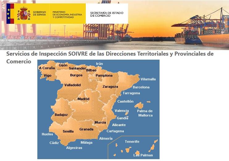Resultado de imagen de Cuerpo de Inspectores del SOIVRE