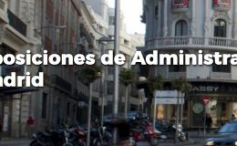 plazas Auxiliares Administrativos Madrid